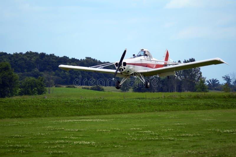 Samolot Do Lądowania Zdjęcie Stock