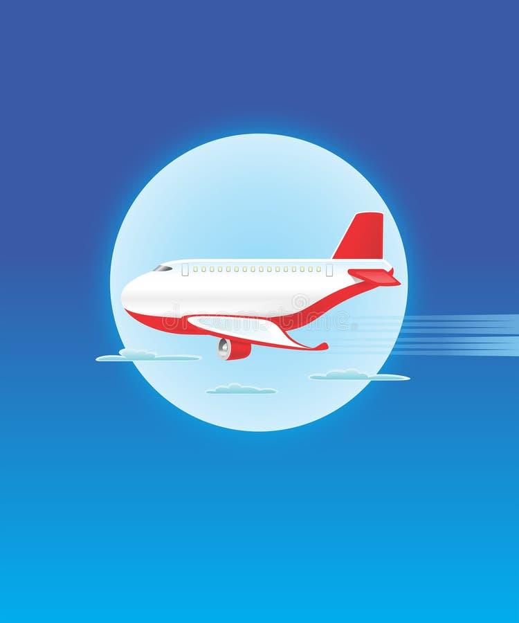 Samolot - JAK-08 zdjęcie stock