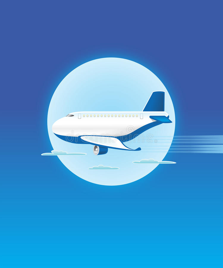 Samolot - JAK-09 zdjęcia royalty free