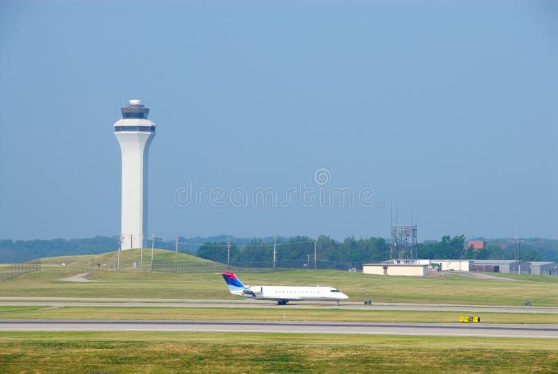 samolot lądowanie zdjęcia royalty free