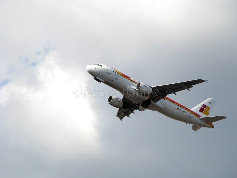 samolot linie lotnicze Iberia fotografia royalty free