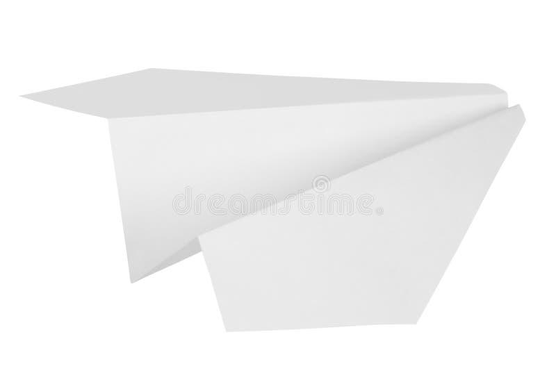 samolot na papierze fotografia stock