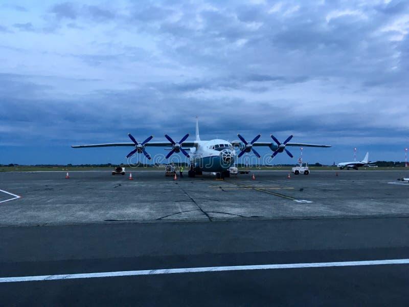 Samolot na zdjęcie royalty free