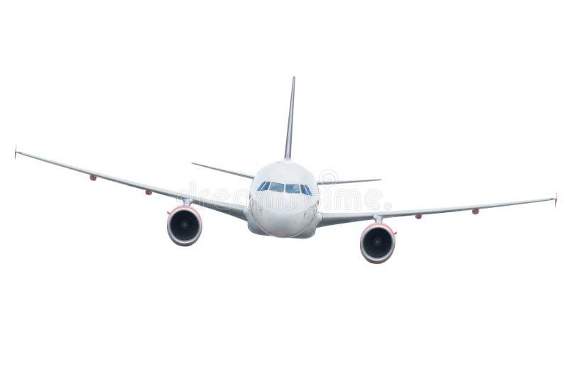 samolot odizolowywający obraz royalty free