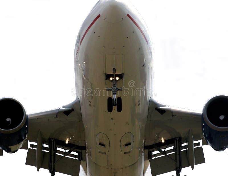 samolot pod szczegół zdjęcie stock