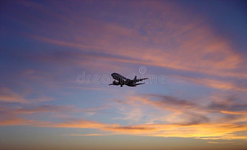 Download - samolot słońca zdjęcie stock. Obraz złożonej z pomarańcze - 34856