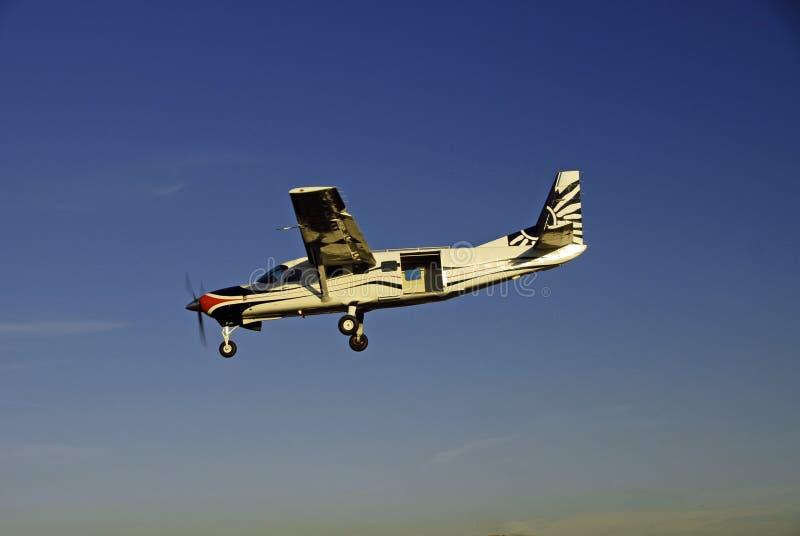 samolot skoku zdjęcie royalty free