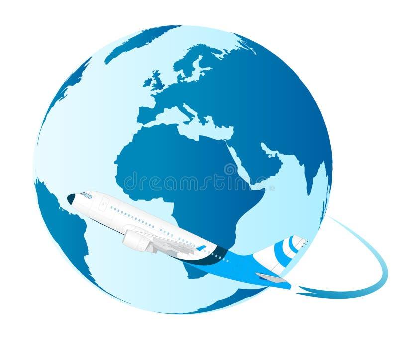 samolot wokoło światu