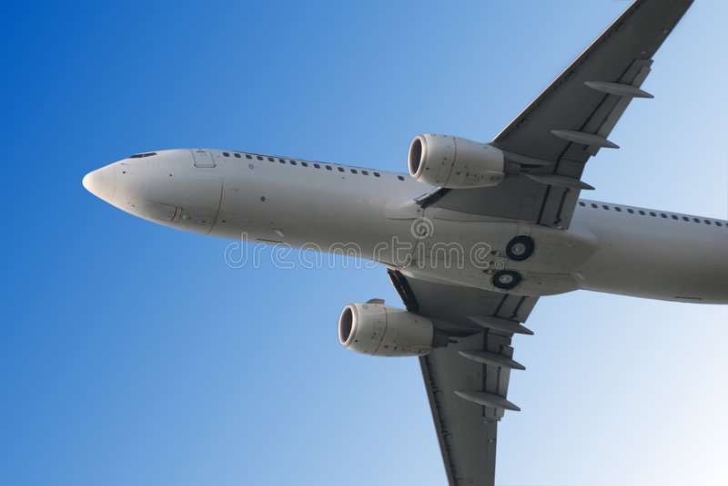 samolot z obrazy royalty free