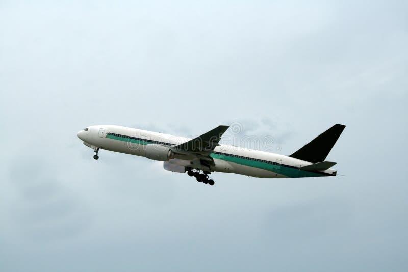samolot z zdjęcia stock
