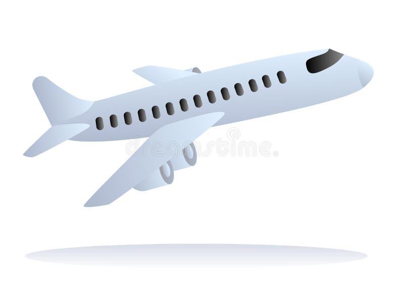 samolot z zabranie wektor ilustracji