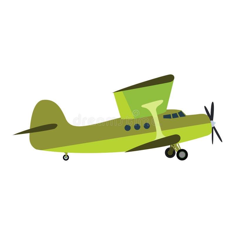 Samolotowa wektorowa ilustracja ilustracja wektor