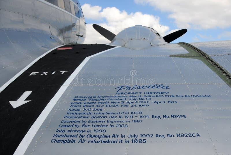 samolotowego śmigła rocznik obrazy royalty free
