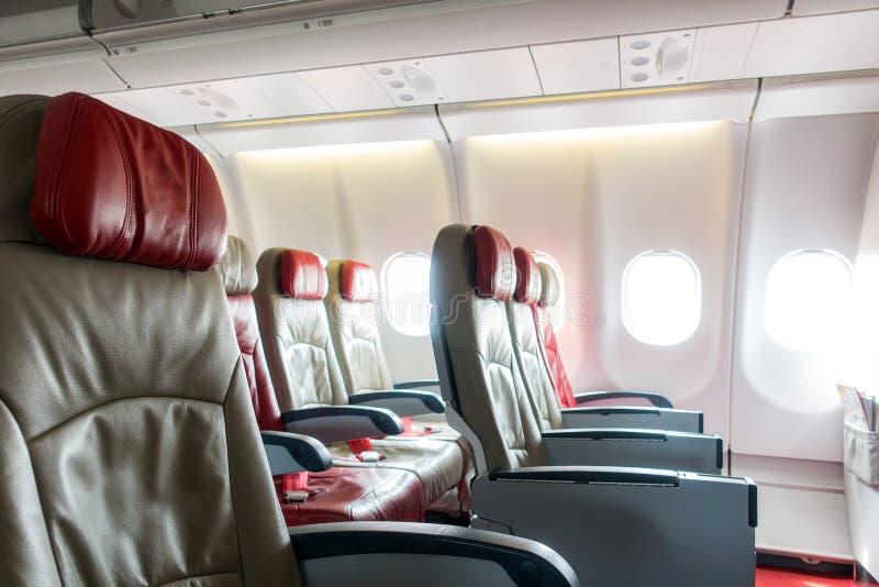 Samolotowi siedzenia obraz royalty free