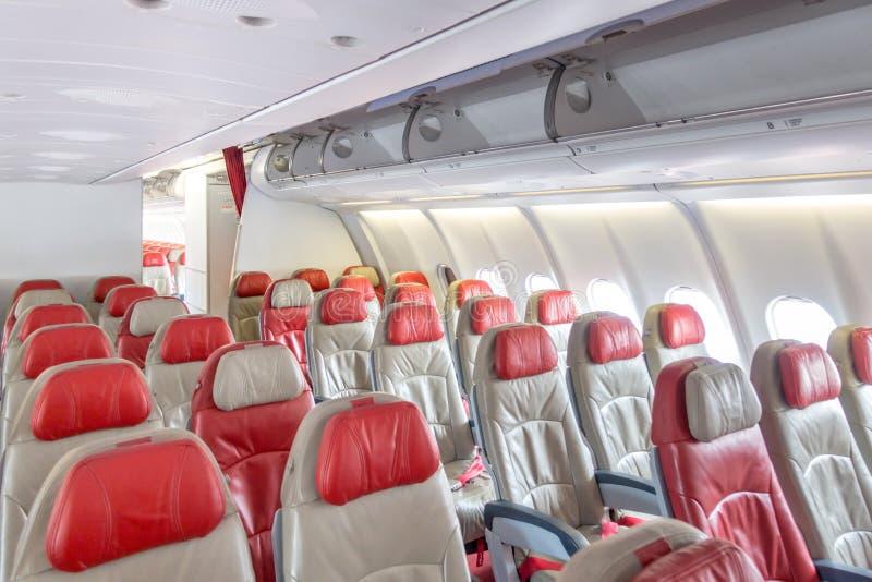 Samolotowi siedzenia zdjęcia stock