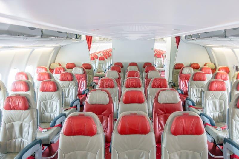 Samolotowi siedzenia obrazy royalty free