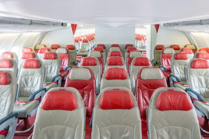 Samolotowi siedzenia zdjęcie stock
