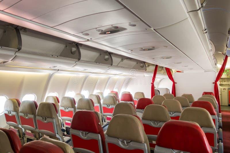 Samolotowi siedzenia zdjęcia royalty free