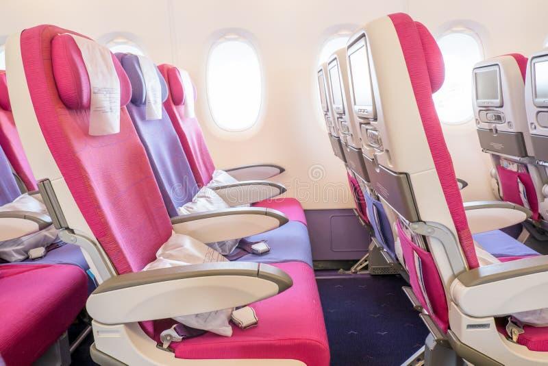 Samolotowi siedzenia obrazy stock