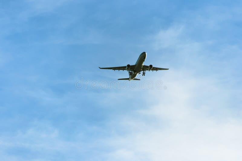 Samolotowy latanie obrazy stock