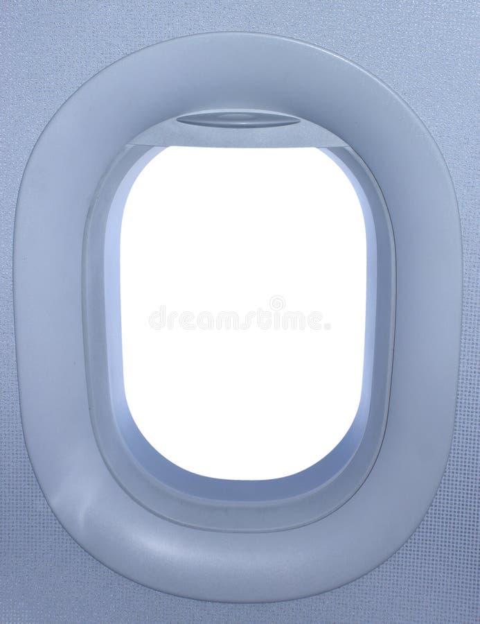 samolotowy okno obraz royalty free