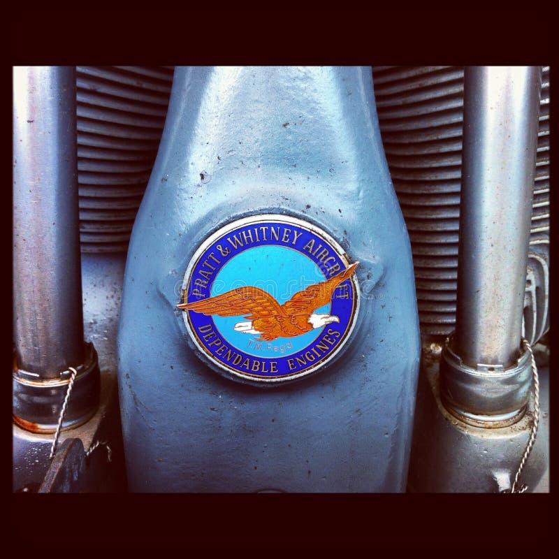 Samolotowy Parowozowy Pratt & Whitney obrazy stock