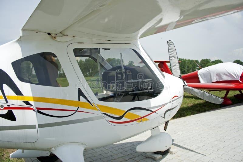 samolotu światło zdjęcie stock