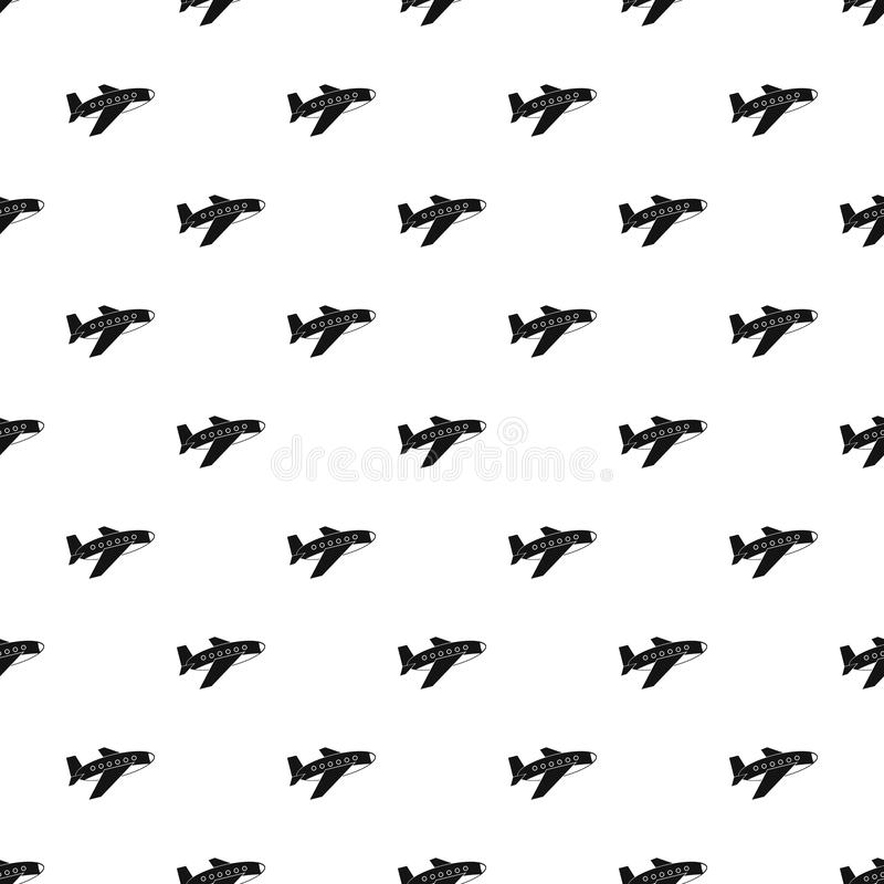 Samolotu deseniowy wektor ilustracja wektor