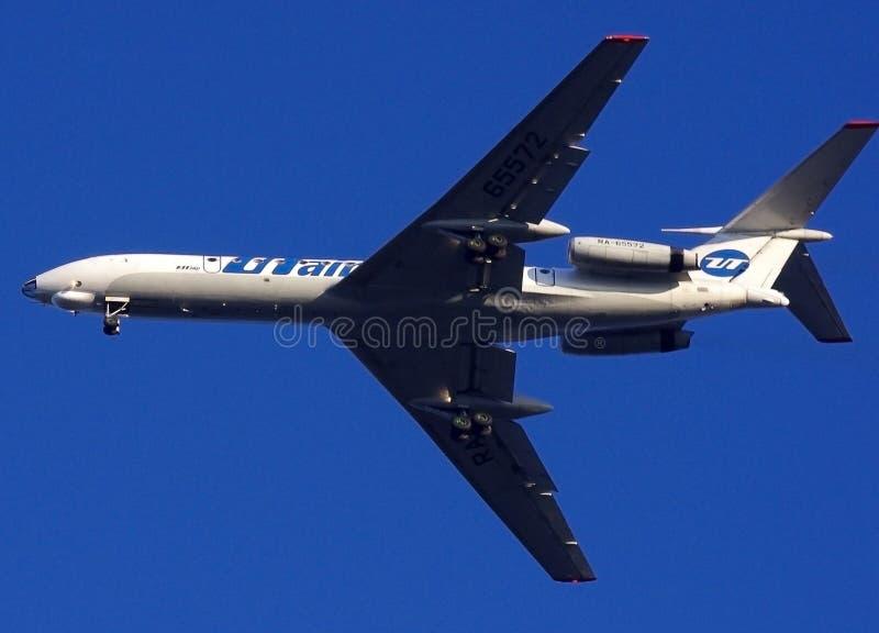 samolotu niebieskie niebo fotografia royalty free