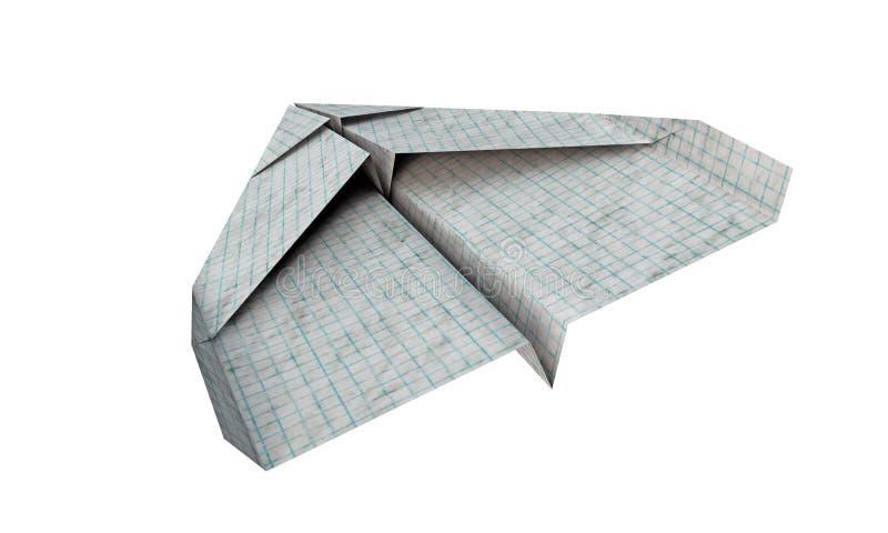Samolotu papier royalty ilustracja