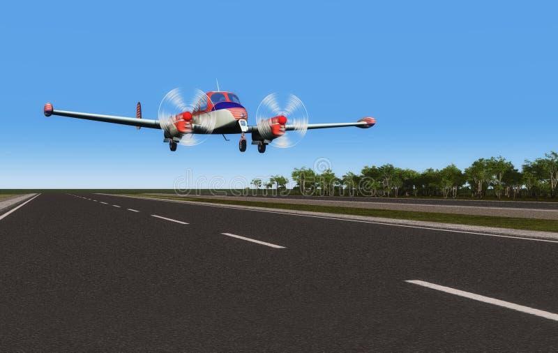 samolotu sport ilustracja wektor