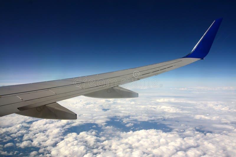 samolotu szczegółu skrzydło zdjęcie stock