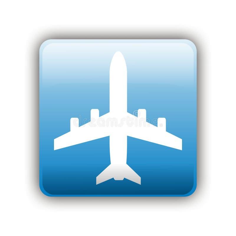 Samolotu Znak zdjęcie stock