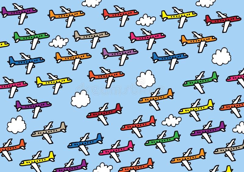 samoloty ilustracji