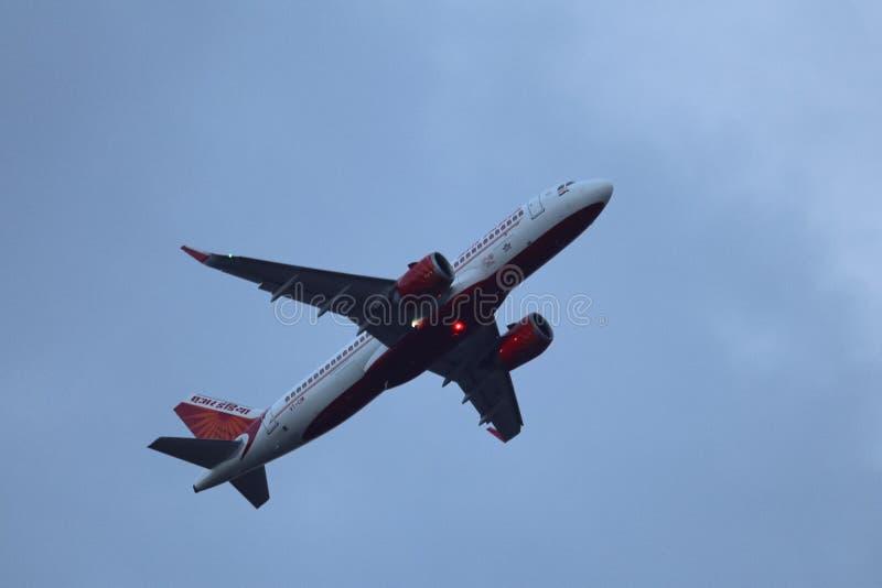 Samoloty chennai zdjęcia royalty free