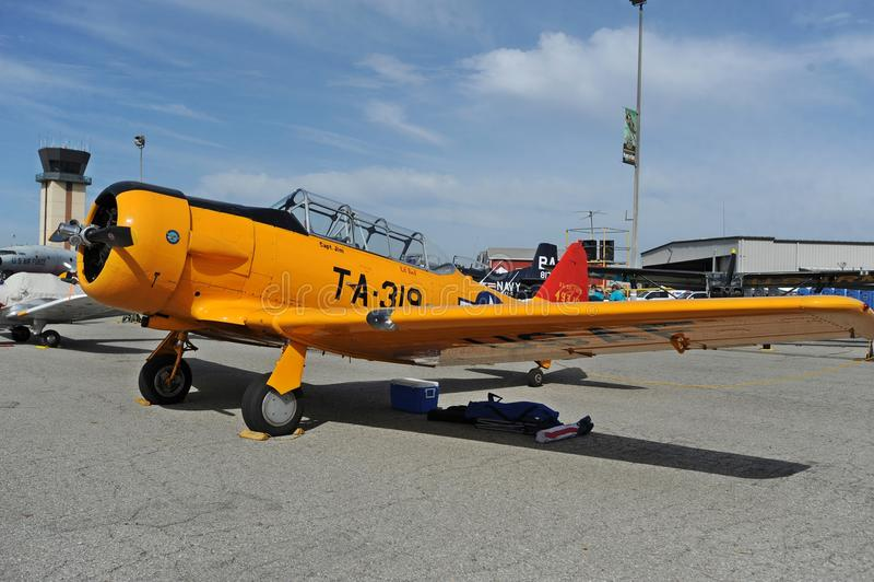 Samoloty sława Airshow, chino lotnisko, Maj 5-6, 2018 obraz stock