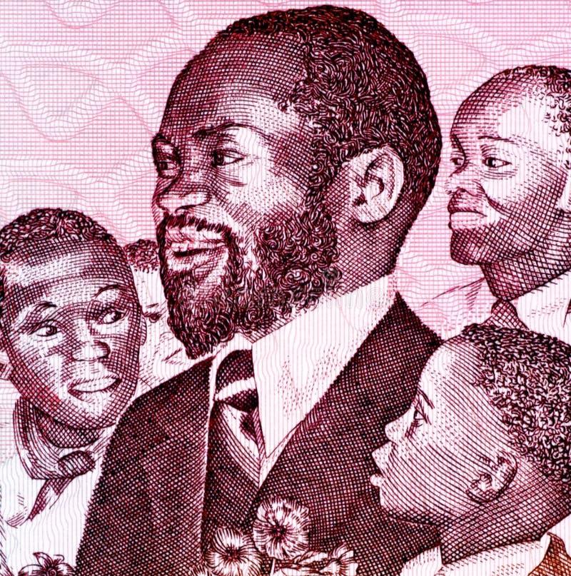 Samora Machel fotografía de archivo