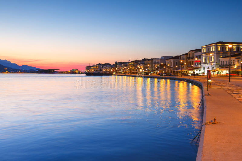 Samos-Insel in Griechenland stockfotos