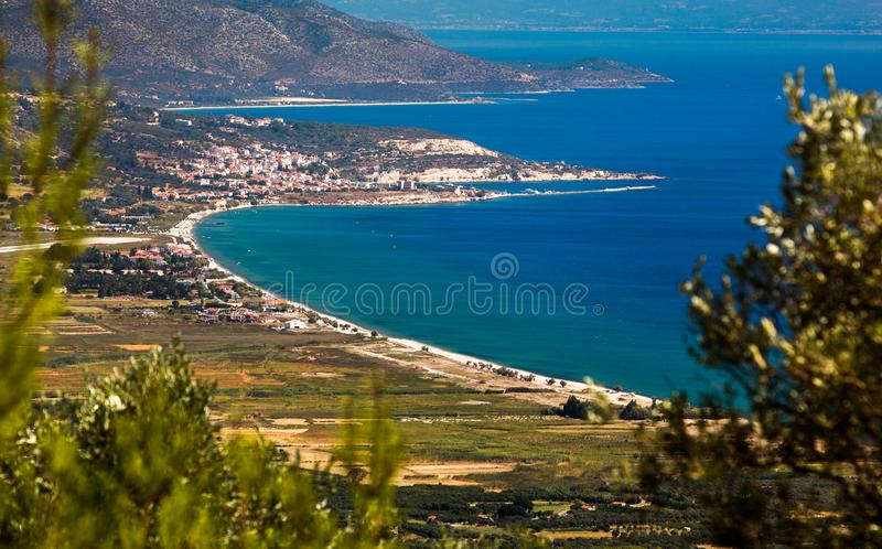 Samos island royalty free stock photos