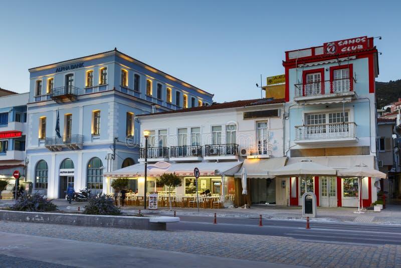 Samos island in Greece. royalty free stock photography