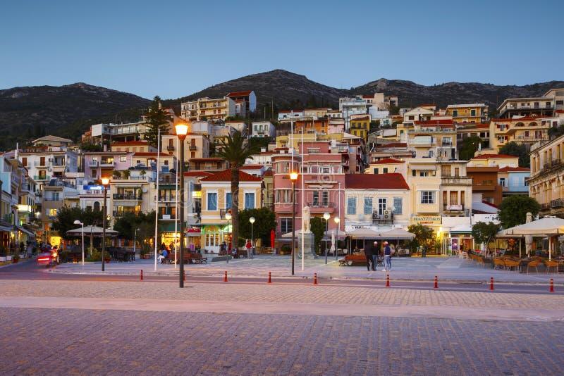 Samos island in Greece. stock image