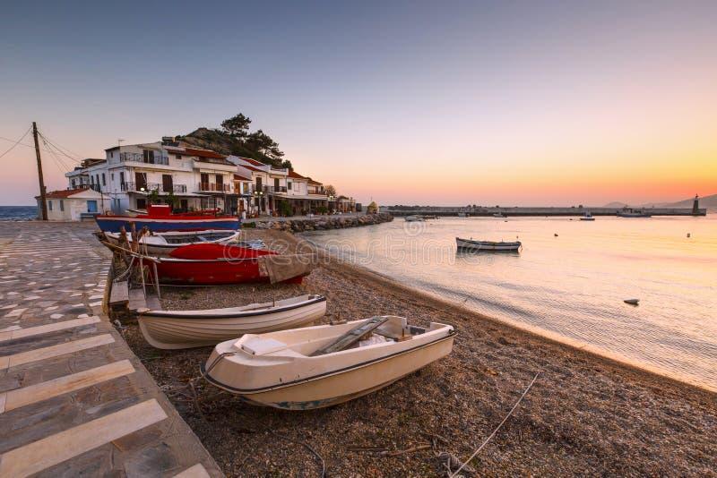 Samos Island. stock images