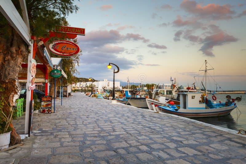Samos Island. Pythagorio town on Samos island, Greece royalty free stock photography