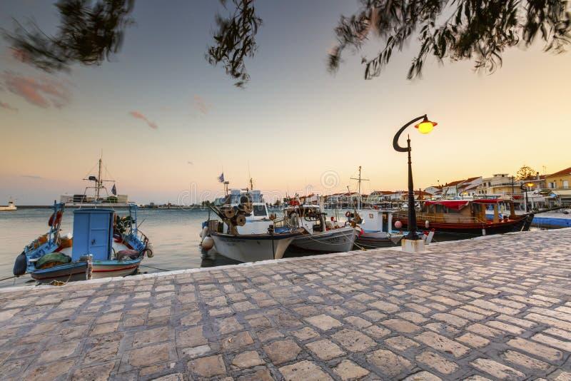 Samos Island. Pythagorio town on Samos island, Greece royalty free stock photo
