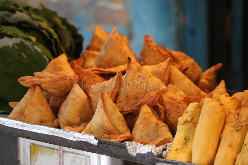 Samosa Food. Indian special traditional street food samosa stock photography
