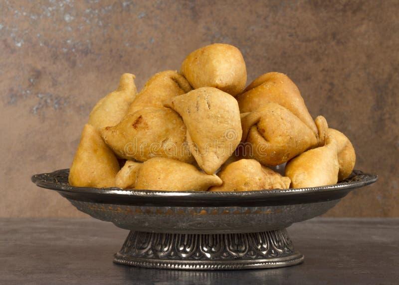 Samosa. Indian special traditional namkeen food `Dry Samosa stock image