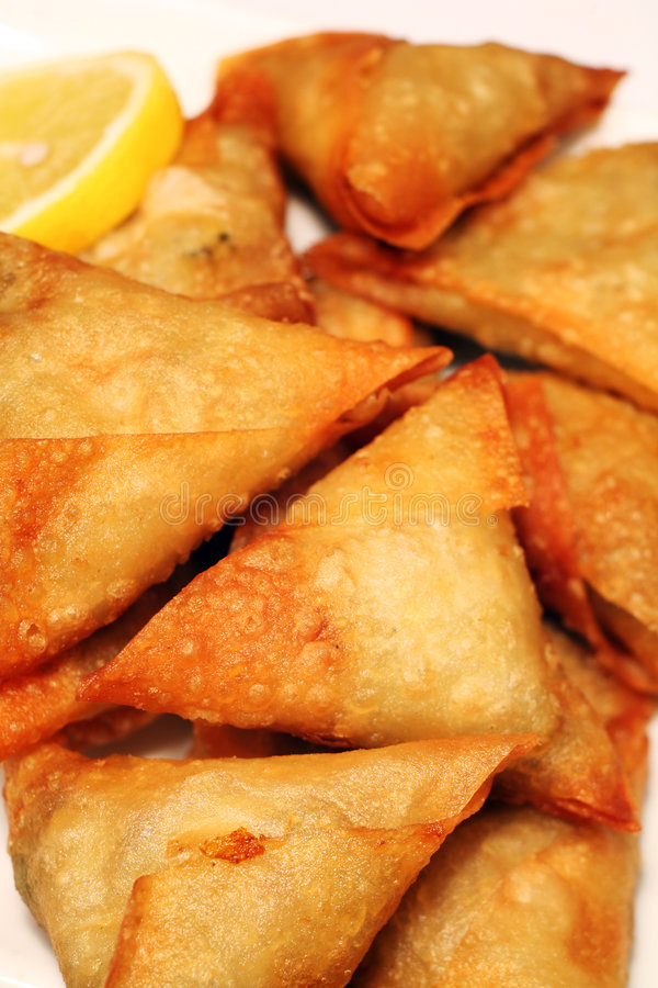 Free Samosa Pastries Stock Photography - 1308062