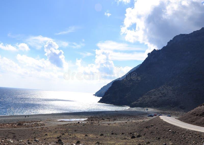 Samothrace海岛,希腊 免版税库存照片