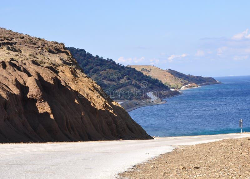 Download Samothrace ö, Grekland fotografering för bildbyråer. Bild av berg - 76701759