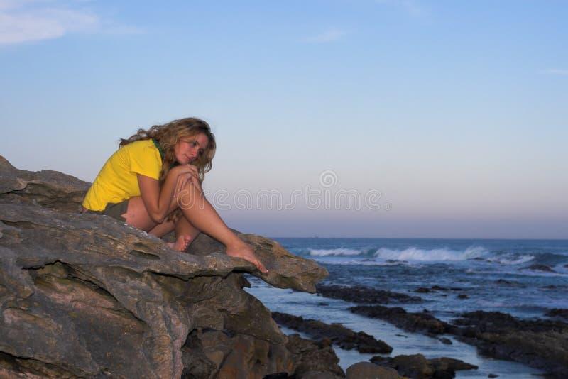 samotna dziewczyna obraz royalty free